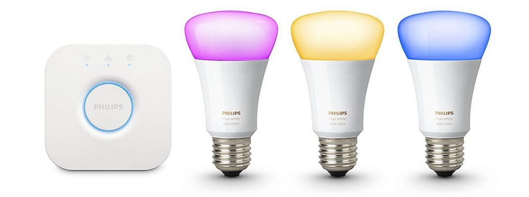 Philips Hue White and Colour Ambience with Richer Colours Starter Kit