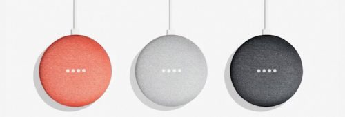 Google Home Mini - Colour Options