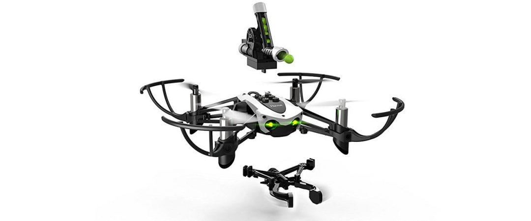 Parrot Mambo Mission Minidrone with grabber and cannon