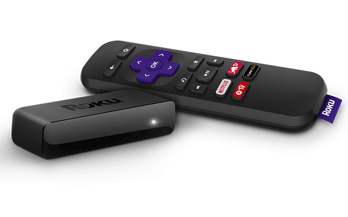 Roku Express with Remote (UK layout) - - A perfect solution for a streaming novice